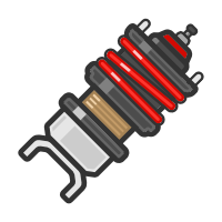 Coilover Sticker